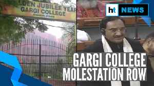 Watch l Gargi college molestation raised in Lok Sabha; NCW team visits campus [Video]
