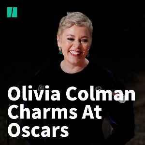 Olivia Colman Charms At The Oscars… Again [Video]