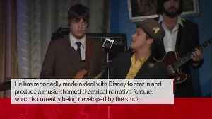 Bruno Mars to produce and star in Disney movie [Video]
