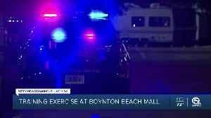 Boynton Beach police hold training exercise at Boynton Beach Mall [Video]
