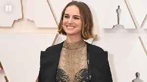Natalie Portman's Oscars Outfit Supports Snubbed Female Directors [Video]