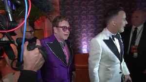 News video: Sir Elton John raises $6.4 million in post-Oscars AIDS research gala