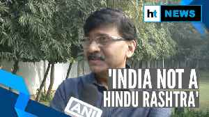 Watch: Shiv Sena's Sanjay Raut reacts to RSS message that 'Hindu is not BJP' [Video]