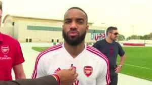 Lacazette promises big Arsenal improvement [Video]