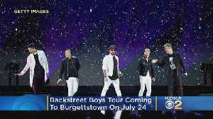 Backstreet Boys Bringing DNA World Tour To Burgettstown [Video]