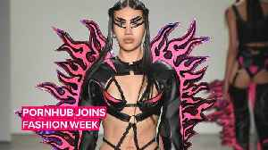 News video: NYFW gets kinky with Pornhub models at Namilia