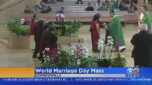 Couples Renew Their Vows For World Marriage Day [Video]