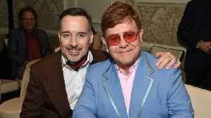 Elton John thanks husband and their 'beautiful boys' following win at 2020 Oscars [Video]