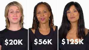 News video: Women of Different Salaries on Their Biggest Monthly Expense (Other Than Rent)