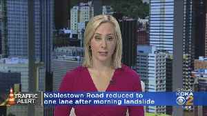 Landslide Shuts Down Part Of Noblestown Road In West End [Video]