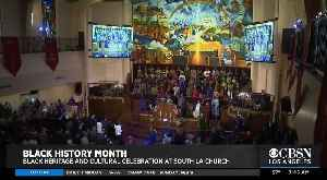 Black History Month Celebration at South LA Church [Video]