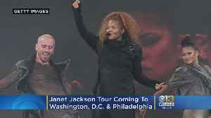 Janet Jackson's Black Diamond World Tour Coming To DC's Capital One Arena In July [Video]