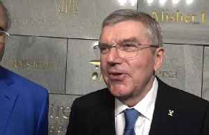 IOC chief Bach emotional as Olympic manifesto returns home [Video]