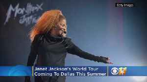 Janet Jackson's Black Diamond World Tour Stops In Dallas This Summer [Video]