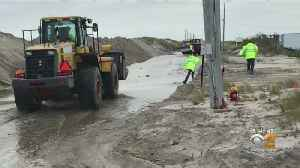Work Beings To Repair Dune Road, Protect Southampton From Storms [Video]