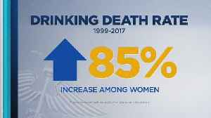 Study: Alcoholism-Related Deaths Increasing For Women [Video]