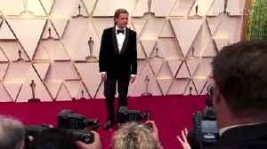 Oscars 2020 Brad Pitt Wins Best Supporting Actor for Once Upon a Time in Hollywood [Video]