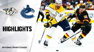 NHL Highlights | Predators @ Canucks 2/10/20 [Video]