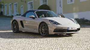 The new Porsche 718 Boxster GTS 4.0 Design in Crayon [Video]