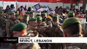 Clashes in Beirut ahead of government confidence vote [Video]