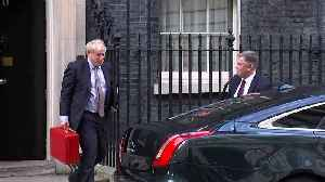 Boris Johnson departs Downing St [Video]