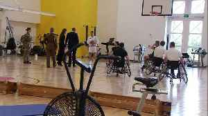 Cambridge's join Charles and Camilla for visit to Army Rehab [Video]