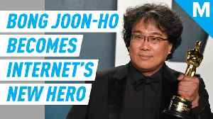 Bong Joon-ho is the internet's new hero after cleaning up at the 92nd Academy Awards. [Video]