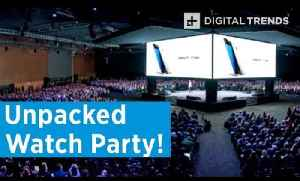 Samsung Unpacked Watch Party | Digital Trends Live [Video]