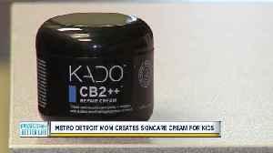 Metro Detroit mom creates skincare cream for kids [Video]