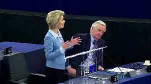 Let's agree social, climate ambitions, von der Leyen urges UK [Video]