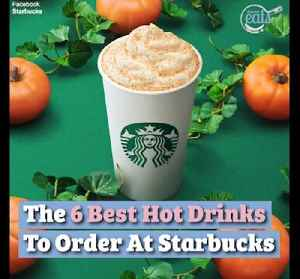 The Best 6 Hot Drinks To Order At Starbucks [Video]