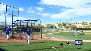 Chicago Cubs Start Spring Training [Video]