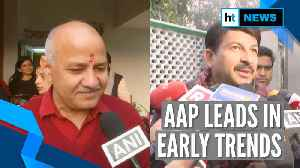 Delhi polls | Counting of votes underway, AAP leads in early trends [Video]