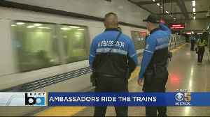 Unarmed, Uniformed BART Ambassadors Aim To Keep Riders Safe [Video]