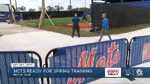 Mets pitchers and catchers report for Spring Training [Video]