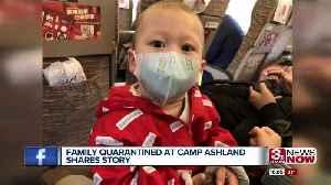 China evacuee will celebrate first birthday in quarantine [Video]
