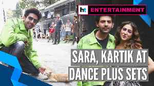 Watch: Kartik Aaryan plays with stray cat at sets of Dance Plus | Love Aaj Kal [Video]