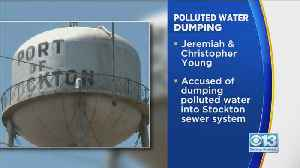 Man Pleads Guilty To Polluted Water Dumping [Video]