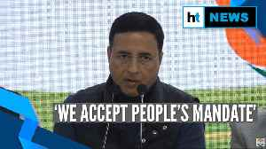 'Every defeat is a new lesson': Cong's Randeep Surjewala on Delhi poll results [Video]