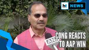 News video: Delhi results 2020 | AAP's victory against BJP's communal agendas: Congress