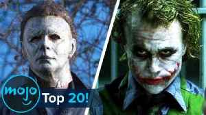 Top 20 Evil Characters of All Time [Video]