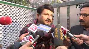 News video: Delhi election results Not at all nervous, it will be a good day for BJP, says Manoj Tiwari