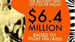 Elton John raises $6.4 million to help AIDS epidemic with Oscars viewing party [Video]