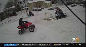 SEE IT: ATV Riders Damage Suffolk Lawn [Video]
