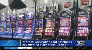Internet-Controlled Slot Machines Unveiled At Hard Rock In AC [Video]