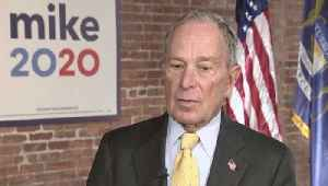 News video: Michael Bloomberg Wins First Voting Contest in Small New Hampshire Town of Dixville Notch With Write-In Votes