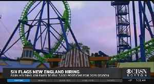 Six Flags New England Hiring [Video]