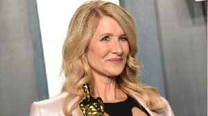 Laura Dern Rewore Dress From 25 Years Ago, Oscars Party [Video]