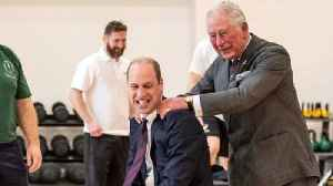 Prince William Gets an Assist From His Dad [Video]