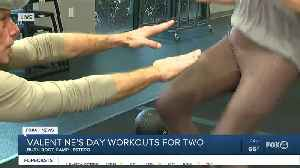 News video: Valentine's Day couple exercise workout